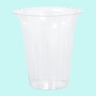 Cylinder Flared Medium Plastic