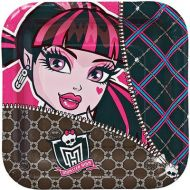 "Monster High Square 7"" Plates"