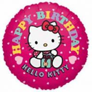 "Hello Kitty 18"" Birthday Balloon"