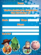 Toy Story 3 - Invitations