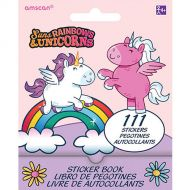 Suns Rainbows Unicorns Sticker Booklet