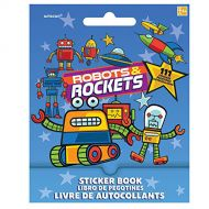Robots & Rockets Sticker Booklet