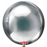 Giant Orbz Silver Balloon