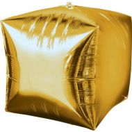 Cube Gold Balloon