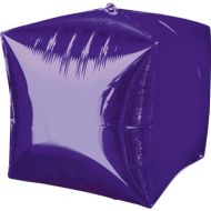 Cube Purple Balloon
