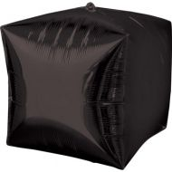 Cube Black Balloon