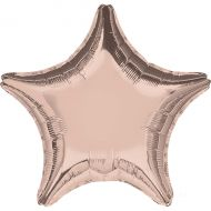 "Rose Gold 18"" Star Balloon"