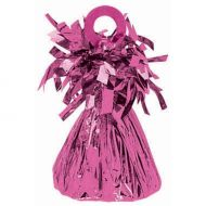 Small Foil Balloon Weight -Bright Pink