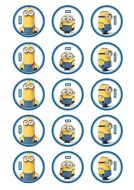 Minions Cupcake Edible Images