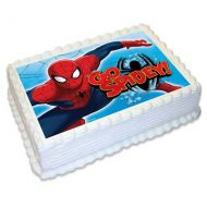 Spiderman A4 Edible Image