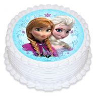 Frozen Round Edible Image