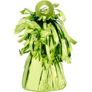Small Foil Balloon Weight -Lime Green