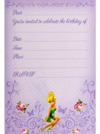 Disney Fairies Invitations