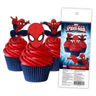 Spiderman Wafer Cupcake Topper
